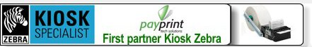 PayPrint first partner Kiosk Zebra Technologies